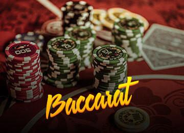 Übersicht von live Baccarat