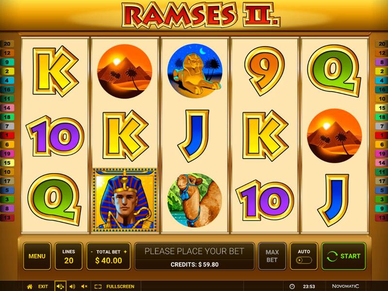 Ramses II Spielautomat